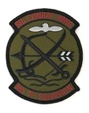 自衛隊グッズ  築城基地 第8航空団 第6飛行隊 ロービジワッペンマジック付