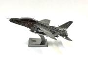 自衛隊グッズ メタリックナノパズル 航空自衛隊 ブル-インパルス