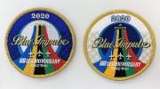 自衛隊グッズ ブルーインパルス2020 ツアーパッチ マジック付 (カメオカ) 2種