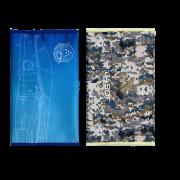 自衛隊グッズ マスクケース ブルーインパルスと航空自衛隊デジタル迷彩 2種