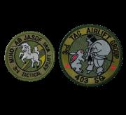 自衛隊グッズ  美保基地 第3輸送航空隊ワッペンマジック付