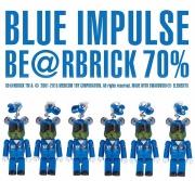 BLUE IMPULSE BE@RBRICK 70% ブルーインパルス ベアーブリック70% 1番機~6番機