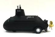 自衛隊グッズ 潜水艦そうりゅう(水陸両用) プルバックマシーン