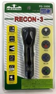 自衛隊グッズ RECON3 リーコン3 LED4色切替タクティカルライト