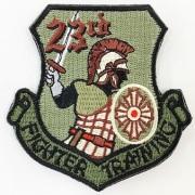 自衛隊グッズ 第23飛行隊 ワッペンロービジ マジック付