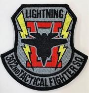 自衛隊グッズ 302飛行隊F-35A ワッペン ベルクロ付き 三沢基地