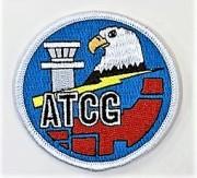 自衛隊グッズ  ATCG入間管制隊ショルダーワッペン マジック付き