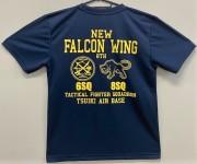 自衛隊グッズ Falcon Wing 8th 築城基地F-2 バイパーゼロ部隊 メンズTシャツ