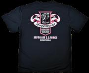 自衛隊グッズ アグレッサー40周年 メンズTシャツ 速乾タイプ