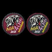 自衛隊グッズ  アグレッサー40周年 ワッペンマジック付き、2種類