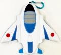 自衛隊グッズ リールパスケース(定期入れ) ブルーインパルス機体