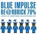 BLUE IMPULSE BE@RBRICK 70% ブルーインパルス ベアーブリック70% 1番機〜6番機
