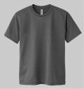 自衛隊グッズ 無地ダークグレーTシャツ 速乾タイプ 4種