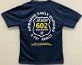 自衛隊グッズ 警戒航空隊602SQ エーワックスメンズTシャツ