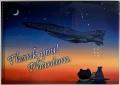 自衛隊グッズ クリアファイル サンキューファントム 2枚組 Azul