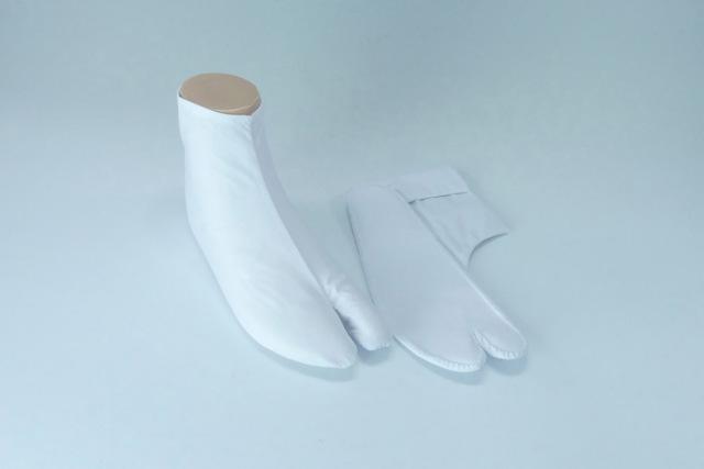 【白足袋】高級キャラコたび ややゆったりサイズ (冬用) 5足セット