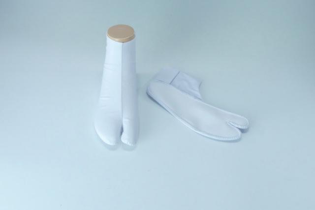 【福助足袋 白足袋】 つま先補強 高級綿キャラコたび ゆたか型 4枚コハゼ(年間用)