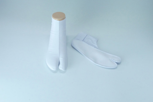 【白足袋】高級のびる綿たび ゆったり型 (年間用) 5足セット