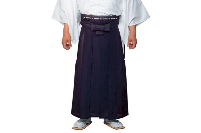 【袴 寺院用】お誂え 御寺院袴 無地(紫トモ抜き)