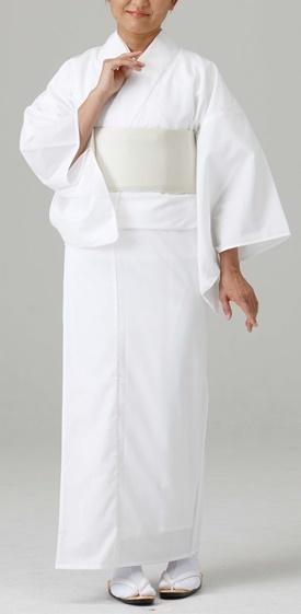【寺院用 神職用 白衣 女性用】爽感 アイスミント白衣 (つい丈仕様・夏用)