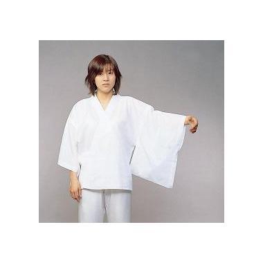 【女性用 和装 半襦袢】さらし綿襦袢 広袖 肩当付 (年間用)