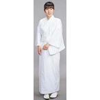 【寺院用白衣 女性用】形状安定綿混厚地 寺院用衣(おはしょり仕様・合用)