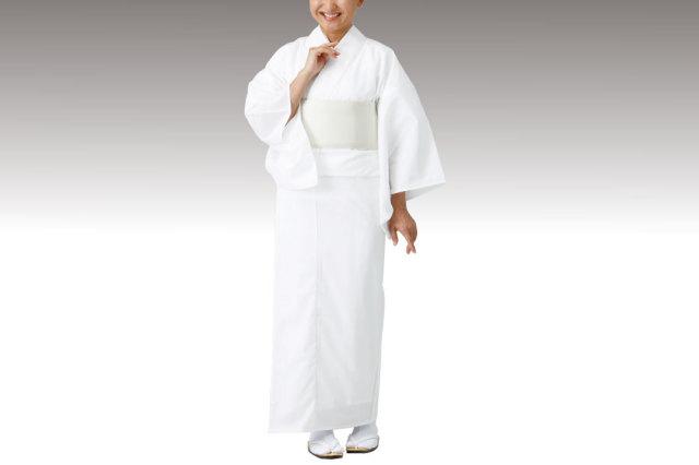 東レセオアルファー白衣(おはしょり仕様・夏用)【寺院用白衣 女性用】