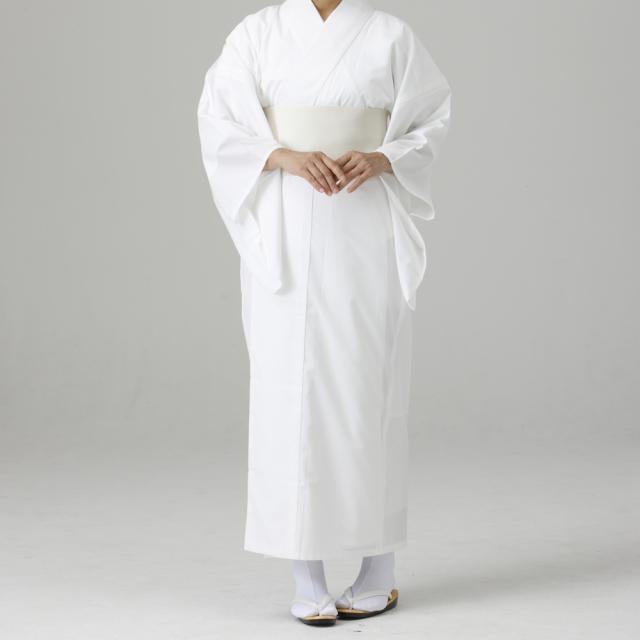 東レセオアルファ みこ用白衣(薄地)つい丈仕様 【袴用白衣 巫女用 女性用】