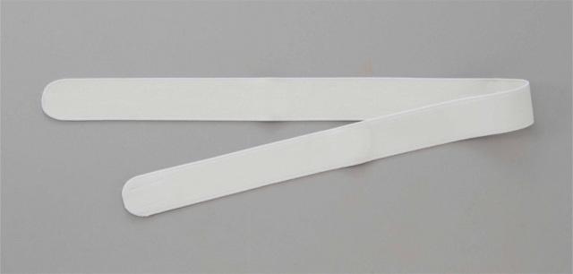 【和装用 帯 ワンタッチ 白】ワンタッチ式略帯 細巾 白