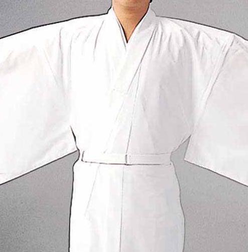 【和装用 腰紐 白色】ワンタッチベルト紐 白 2本セット