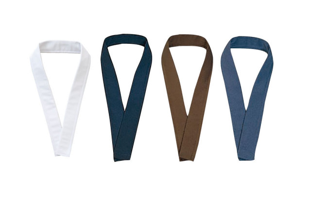 【半襦袢用】 ファスナー替衿式襦袢専用 衿 (白・紺・茶・グレー) 2本セット