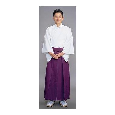 【神職用 袴 男性用】 紫(年間用)
