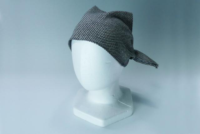 【帽子】 和柄バンダナチーフ