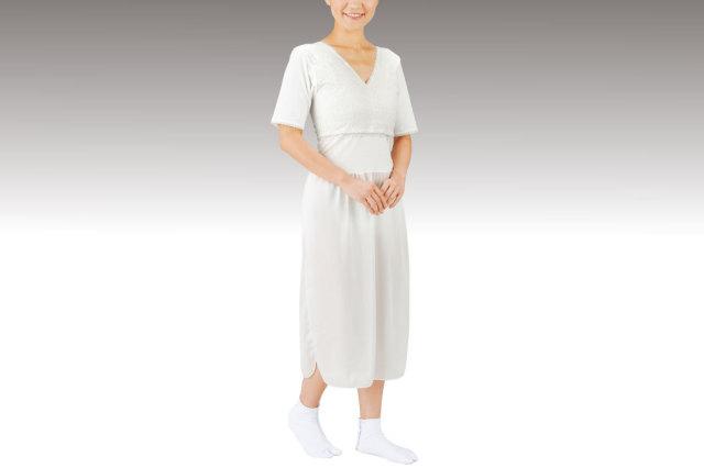 着物スリップ(ブラジャー機能付)【女性用 和装 インナー】