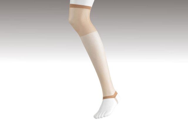 【女性用 和装】 ひざ上まで暖かく伝線しにくい 和装ストッキング ひざ上 2足セット