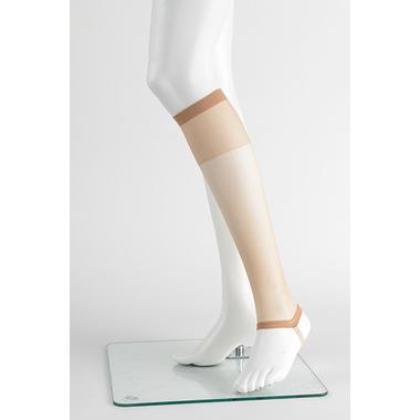 【女性用 和装】 足元を冷えからガードし伝線しにくい 和装ストッキング ひざ下 2足セット