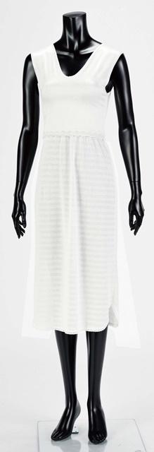 【女性用 和装】袖なし着物スリップ(ブラジャー機能付)
