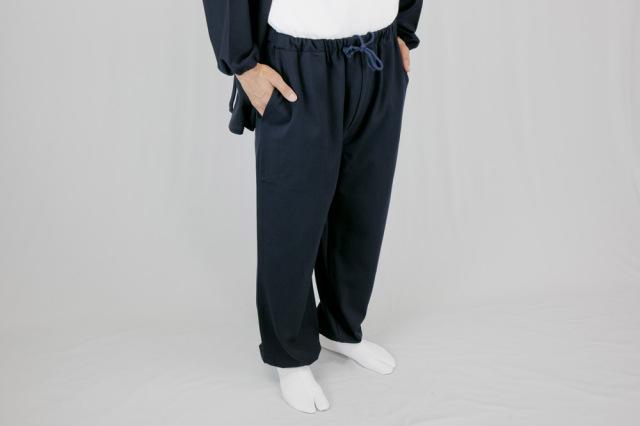 【作務衣(作業衣) 男性用】防寒ストレッチ作務衣 下衣(冬用)