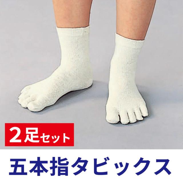 五本指タビックス 2足セット【靴下足袋】