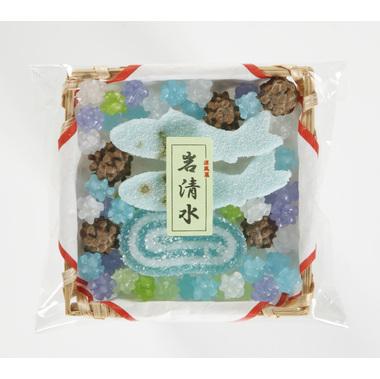 【菓子 お供え】半生菓子 供菓「四季の彩り 石清水」 32袋セット