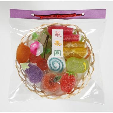 【菓子 お供え】半生菓子 供菓「四季の彩り 菜果園」 24袋セット