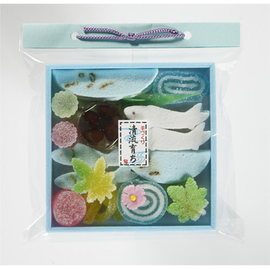 【菓子 お供え】半生菓子 供菓「四季の彩り 清流育ち」 24袋セット