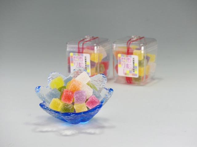 【菓子 お供え】半生菓子 市松ゼリー 36個