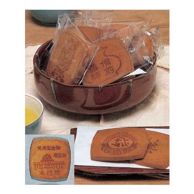 【菓子 進物】 寺社名入り 卵せんべい 1袋2枚入(250袋×1斗缶)
