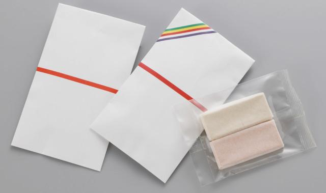 【和菓子】 赤えんどう 落雁 五色のし袋2本入 100箱
