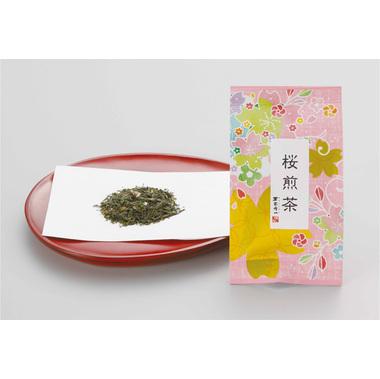 【茶葉 煎茶】 桜入り緑茶 「桜煎茶」 20g入×100袋