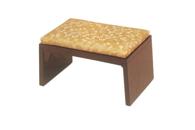 【正座椅子 携帯】 木製YR折畳正座椅子