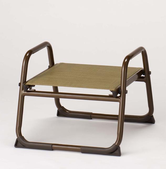 【寺院 神社 本堂用 椅子】 アルミニウム製椅子 飛天 アルミスツール280 背もたれなし 5脚セット