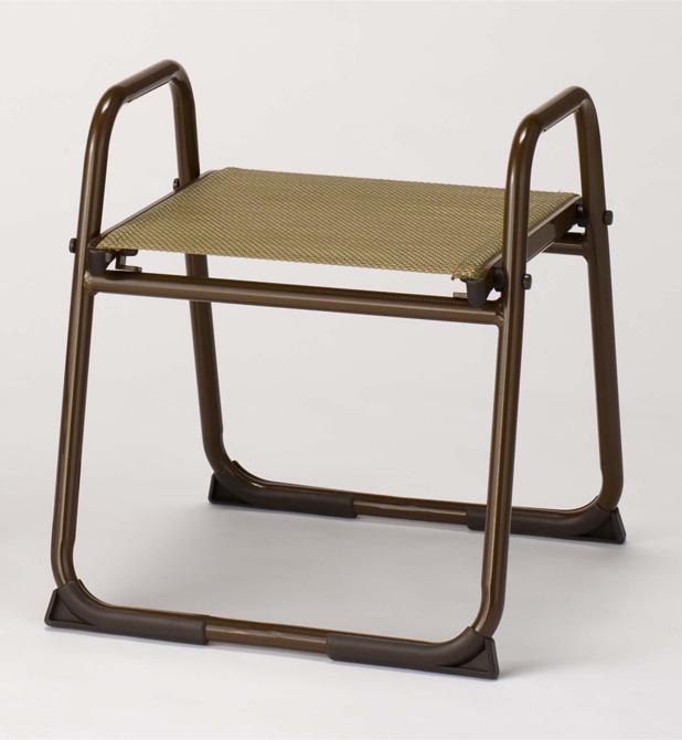 【寺院 神社 本堂用 椅子】 アルミニウム製椅子 飛天 アルミスツール400 背もたれなし 5脚セット
