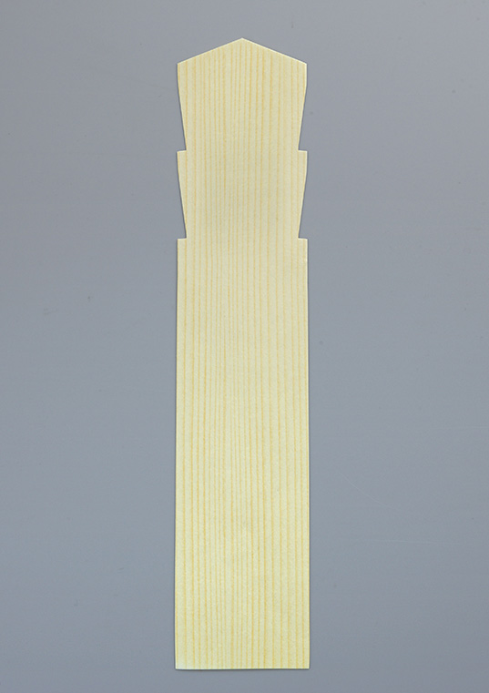 【寺院用仏具 塔婆 エコ】 水に溶けるエコ 水溶経木紙 木目調 200枚セット